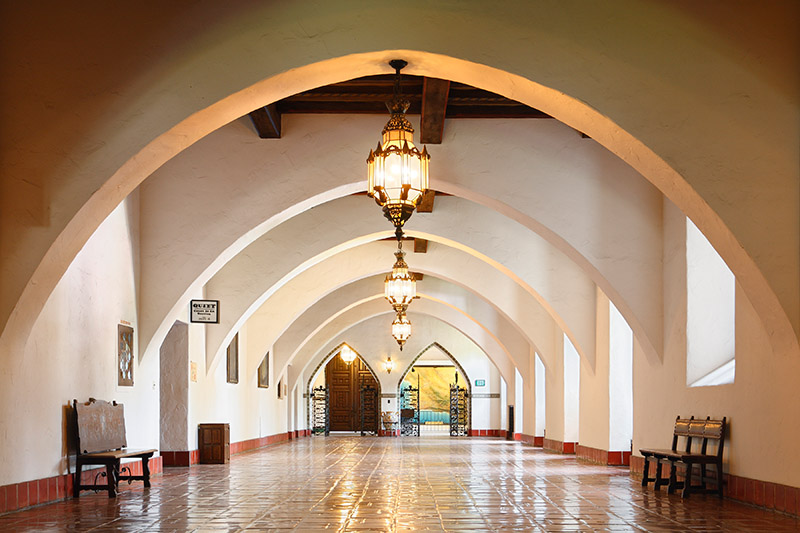 Santa Barbara, California Courthouse